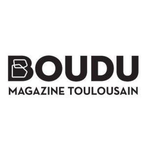 logo de presse boudu magazine toulousain